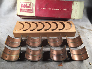 1939-1942 Ford 90 HP flathead rod bearings .002 81A-6211-V NOS - Andrew's Automotive Archaeology