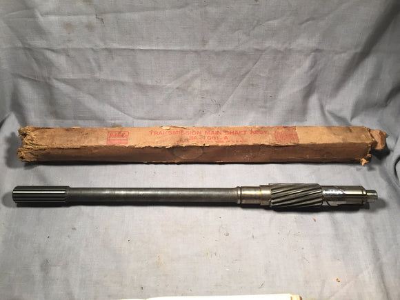 1949-1950 Ford passenger car 3-speed output shaft 8A-7061-A - Andrew's Automotive Archaeology