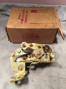 1963-1964 Ford Galaxie LH rear door latch C3AZ-5426413-A NOS - Andrew's Automotive Archaeology - 1