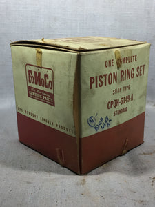 1952-1955 Lincoln 317 y-block piston ring set STD B2QH-6149-A NOS - Andrew's Automotive Archaeology