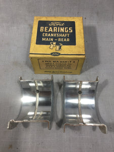 1939-1942 Ford 90 HP flathead rear main bearing .030/STD 81A-6331-T NOS - Andrew's Automotive Archaeology