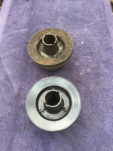 Ford flathead fan pulley lot of two