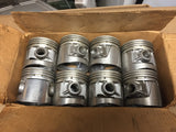 1932-1936 Ford 90 HP flathead .030 3-groove aluminum flat top pistons 40-6110-E - Andrew's Automotive Archaeology