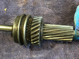 1936-1939 Ford main shaft 68-7061-B with gear and synchro used