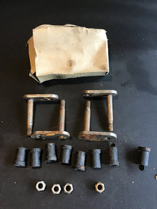 1928-1931 Ford Model A front spring shackle kit NORS - Andrew's Automotive Archaeology