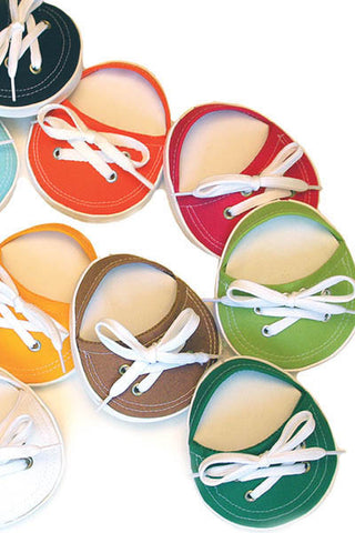 Set of 4, Attachable TENNIS SHOE Coasters-