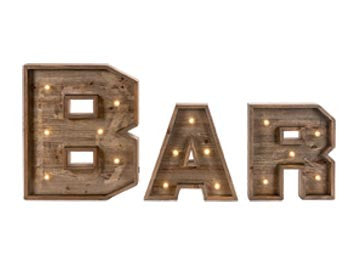 LIGHTED -BAR Marquee