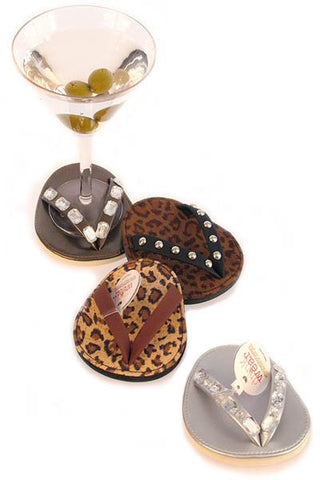 Bling, ATTACHABLE COASTERS, Set of 4
