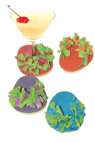 Confetti, ATTACHABLE COASTERS, Set of 4