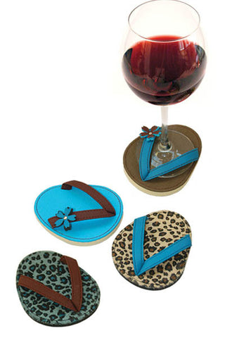 Jaguar, ATTACHABLE COASTERS, Set of 4