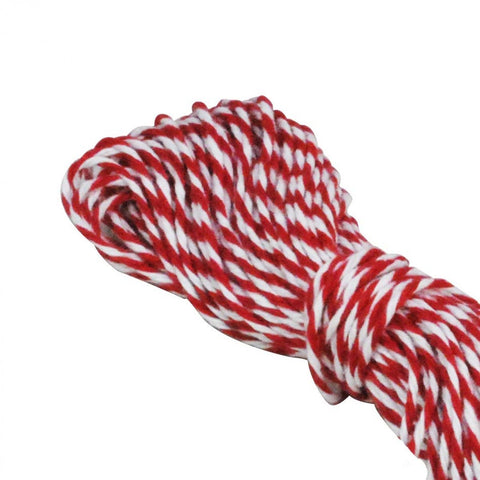 Copy of Bakers Twine - Red and White