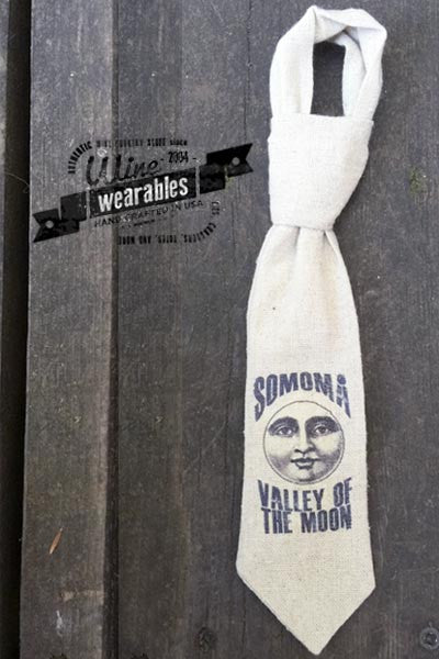 Wine Wearables - Neck Tie - Sonoma