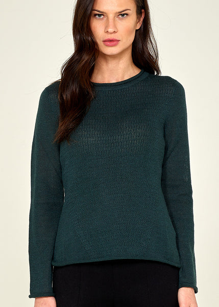 Audrey pullover -teal