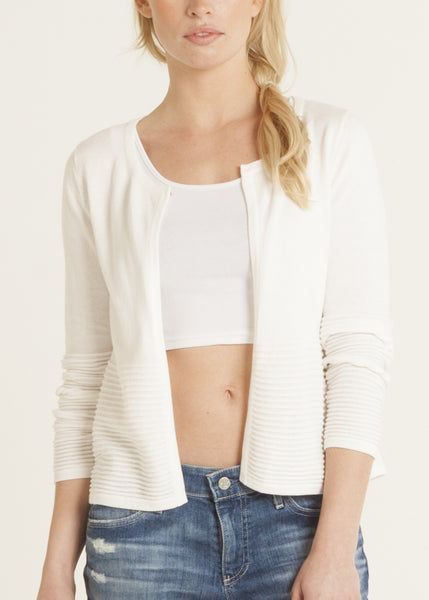 Lina pima cotton cardigan