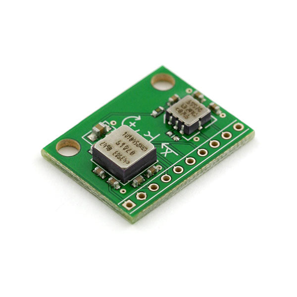 IMU Combo Board - 3 Degrees of Freedom - ADXL203-ADXRS614
