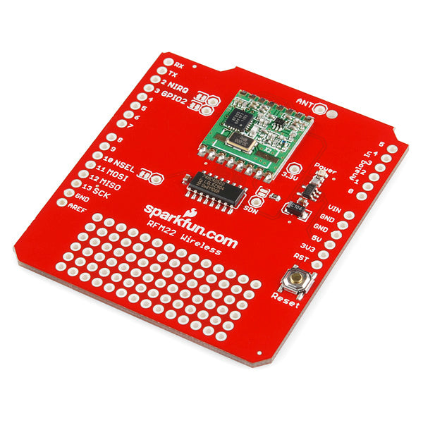 Arduino RFM22 Shield