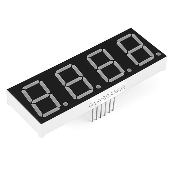 4-Digit 7-Segment Display 20mm - (Red)