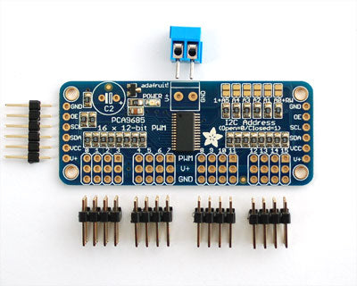 16-Channel 12-bit PWM-Servo Driver - I2C interface - PC