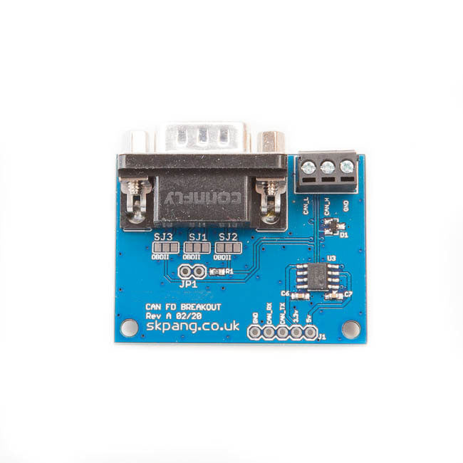 CAN-Bus CAN FD Breakout Board. 5v Supply and 3.3v Logic