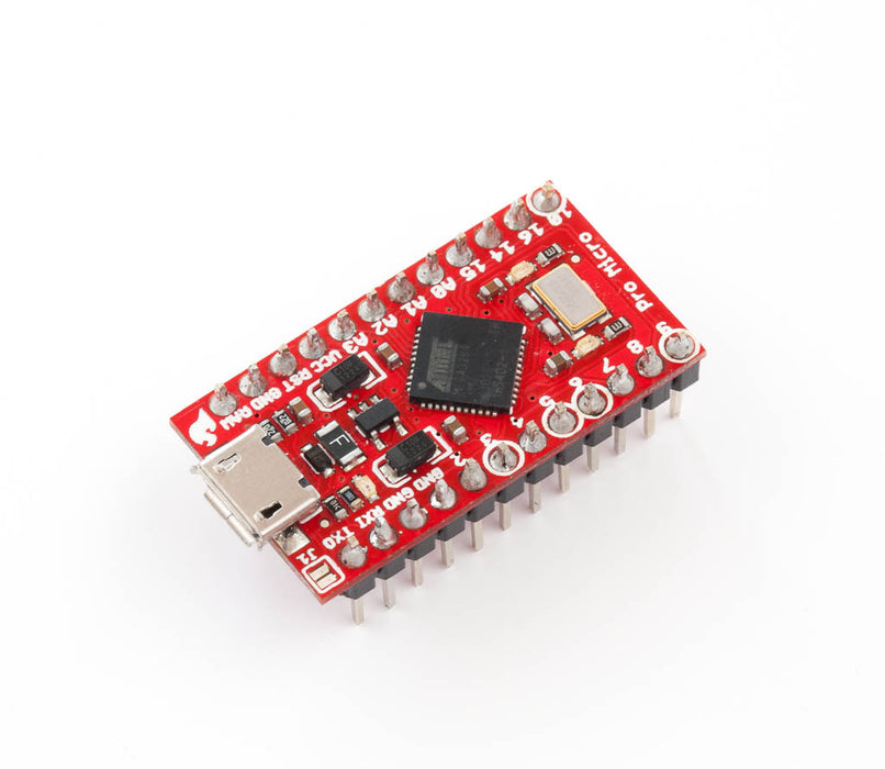 Pro Micro - 3.3V-8MHz with Headers and AnyIO Firmware