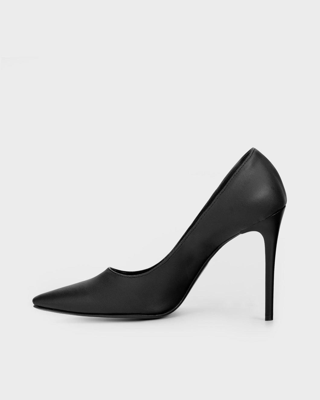 Blacky Chic Nopal cactus leather stilettos