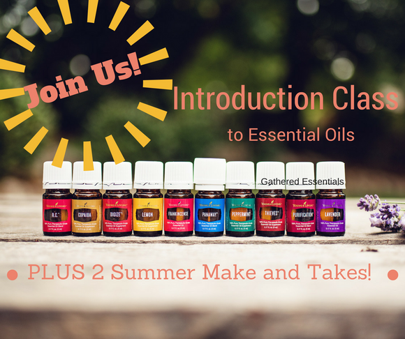 Intro to Essential Oils + Two Make and Takes