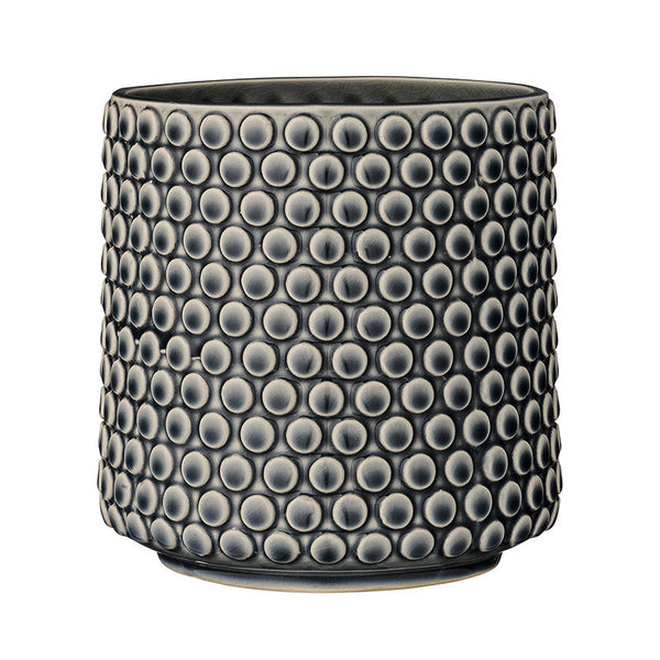 Bloomingville Flower Pot, Bubble Navy