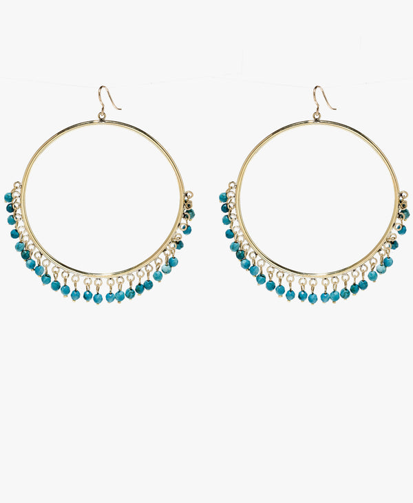 Mnara Turquoise Earrings