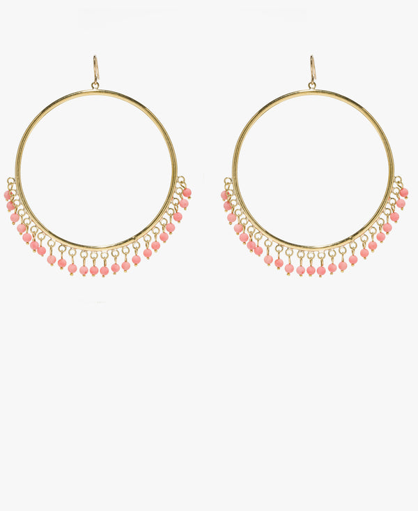 Mnara Coral Earrings