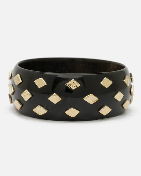 Mila Bangle Dark Horn