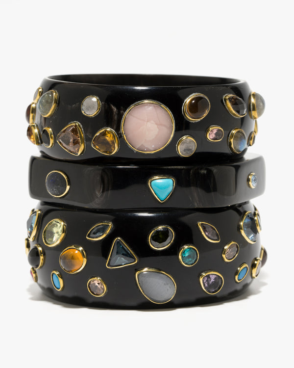 Damu Bangle Dark Horn