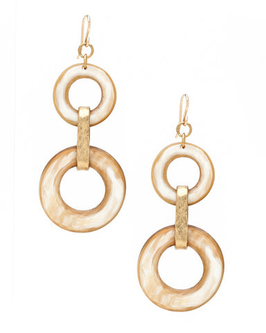 RISASI EARRING LIGHT HORN