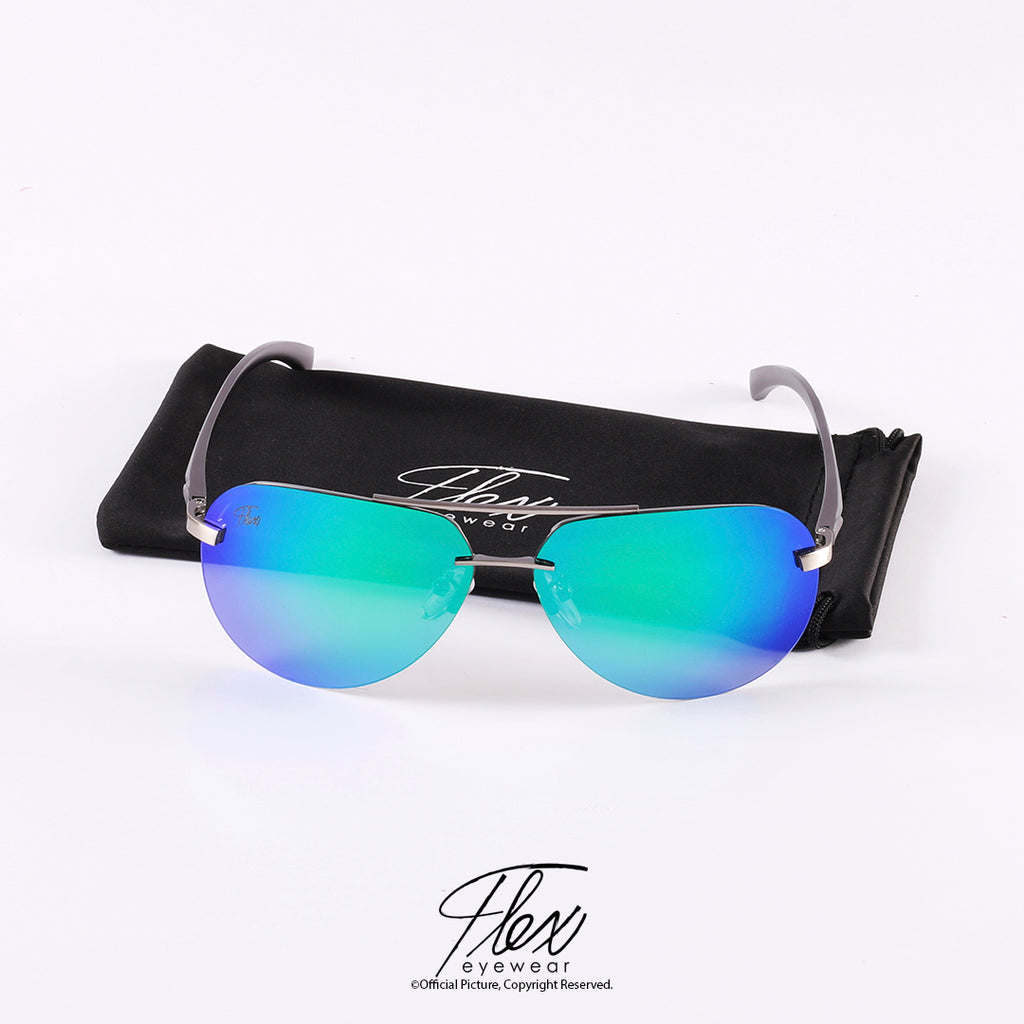 Flex Eyewear Aviator Green - Flex2Store.com