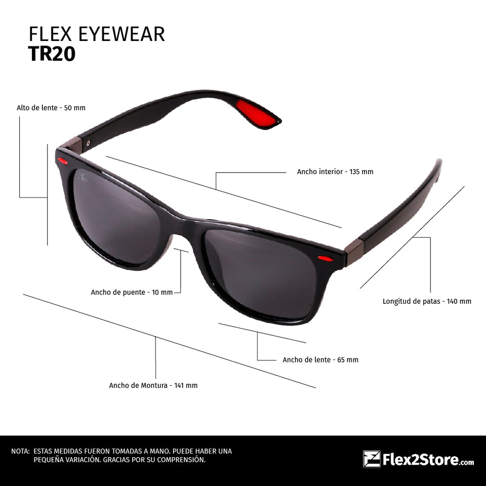 Flex Eyewear TR20 Red