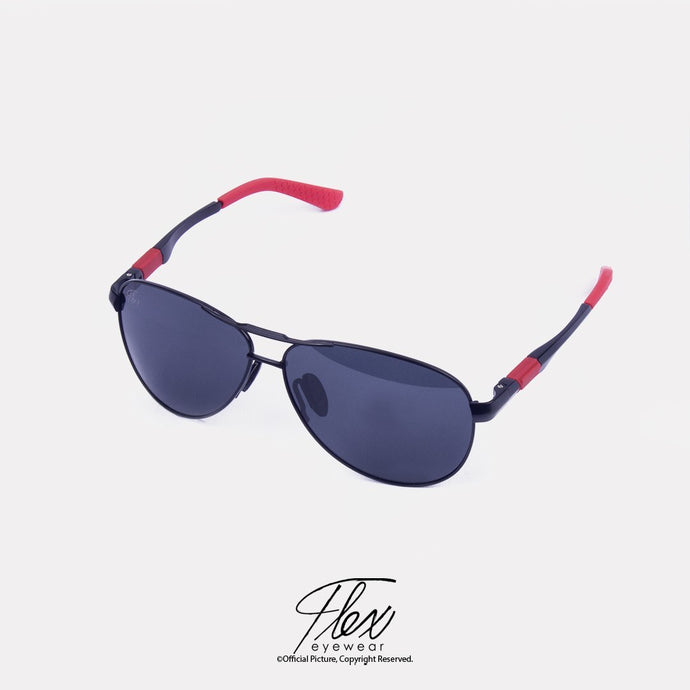 Flex Eyewear Aviator Iron Red - Flex2Store.com