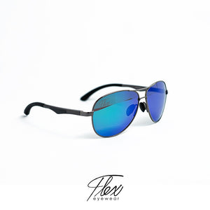 Flex Eyewear Maxwell Black Blue - Flex2Store.com