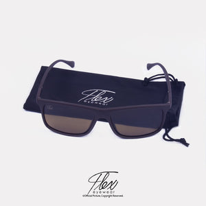 Flex Eyewear Pilot Brown - Flex2Store.com