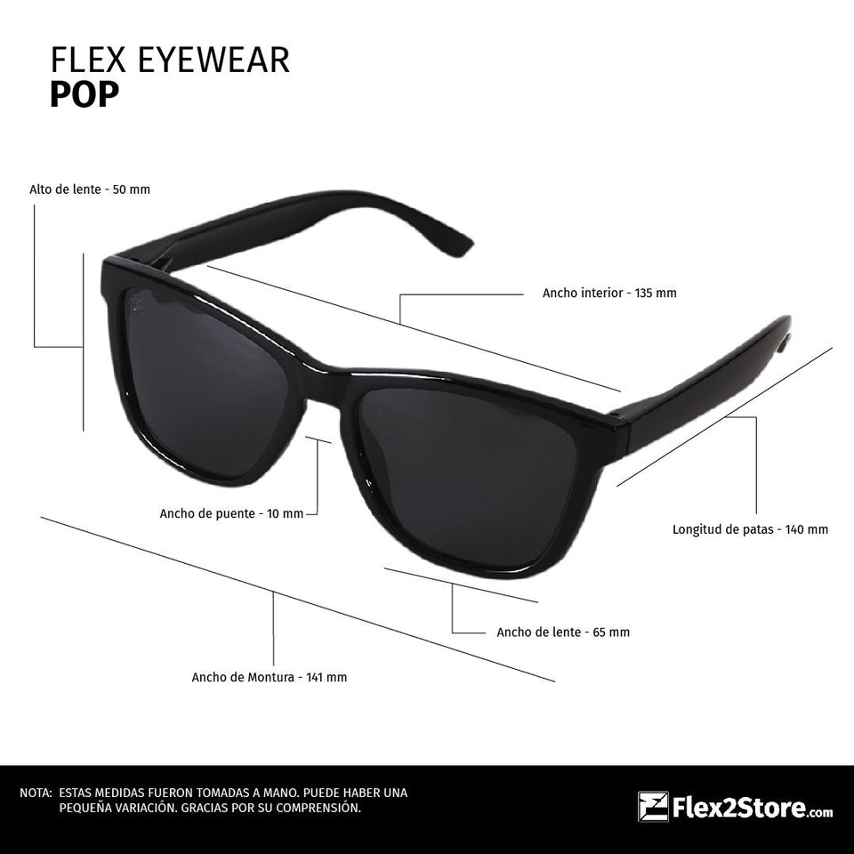 Flex Eyewear Pop Yellow - Flex2Store.com