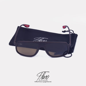 Flex Eyewear TR90 Brown - Flex2Store.com