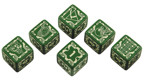 BattleTech: House Liao D6 Dice Set (6)