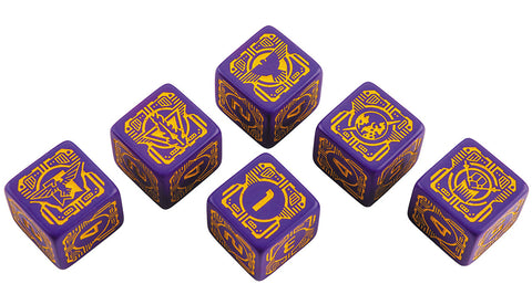 BattleTech: House Marik D6 Dice Set (6)