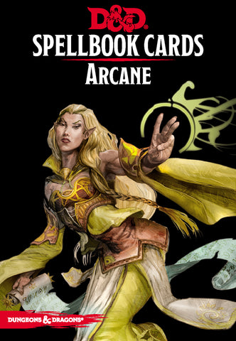 Dungeons and Dragons RPG: Spellbook Cards - Arcane Deck (253 cards)