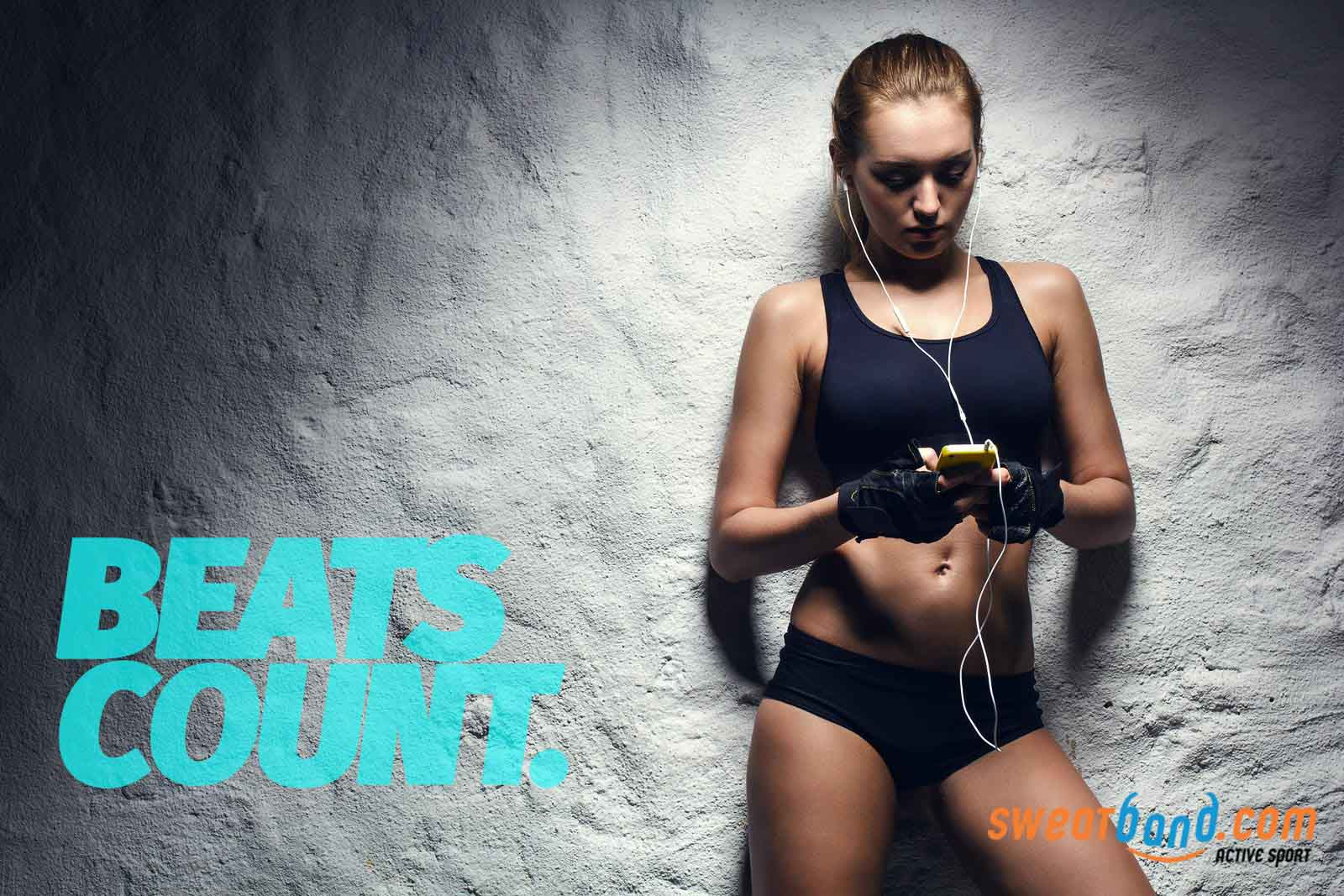 Count those music beats as you train to do so more effectively