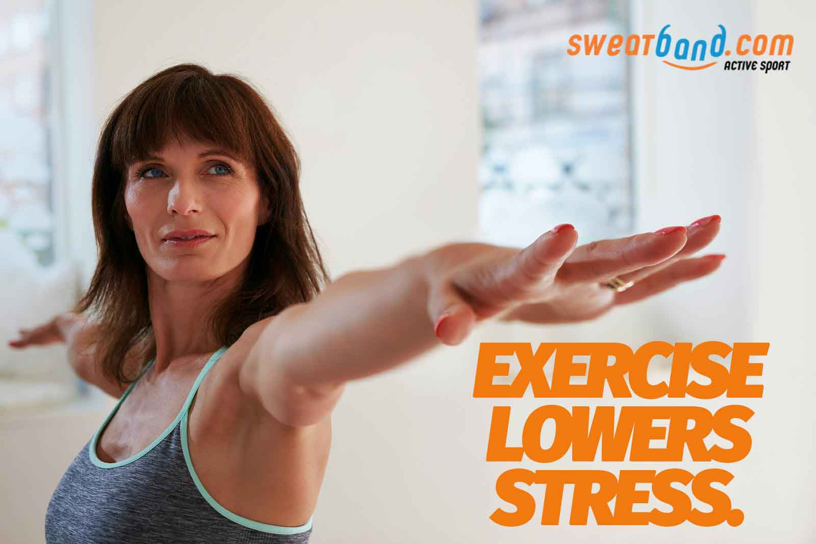 Exercise lowers stress