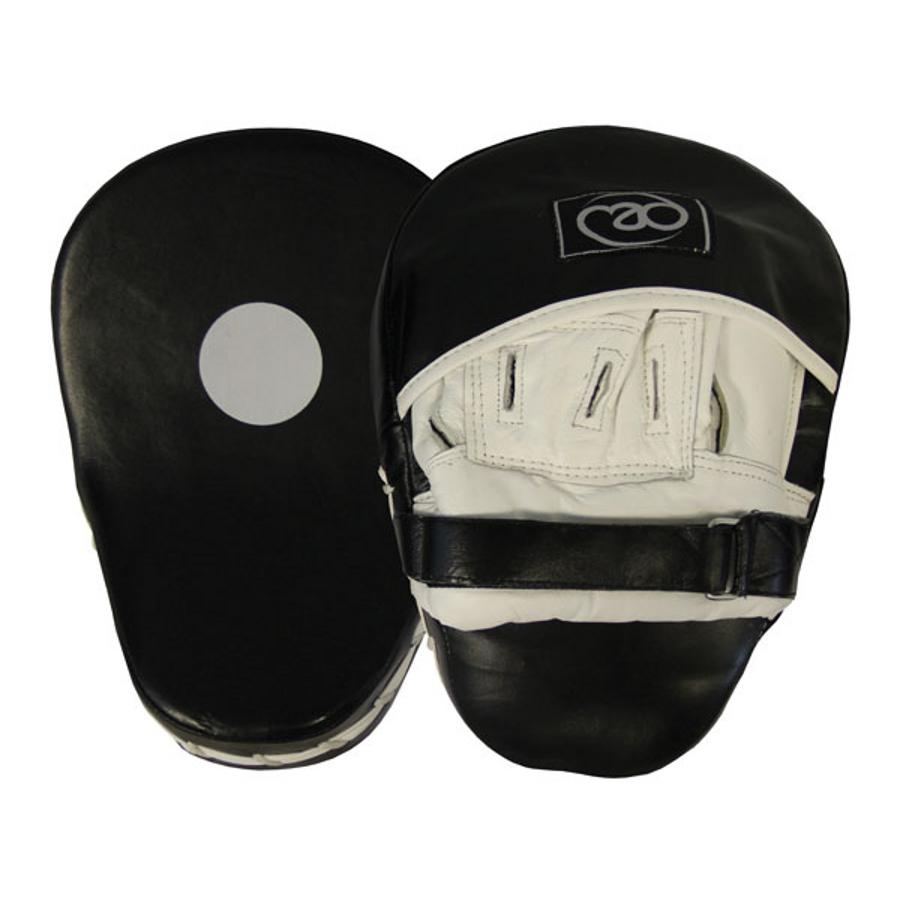 Image of Boxing Mad Curved Leather Hook & Jab Pads