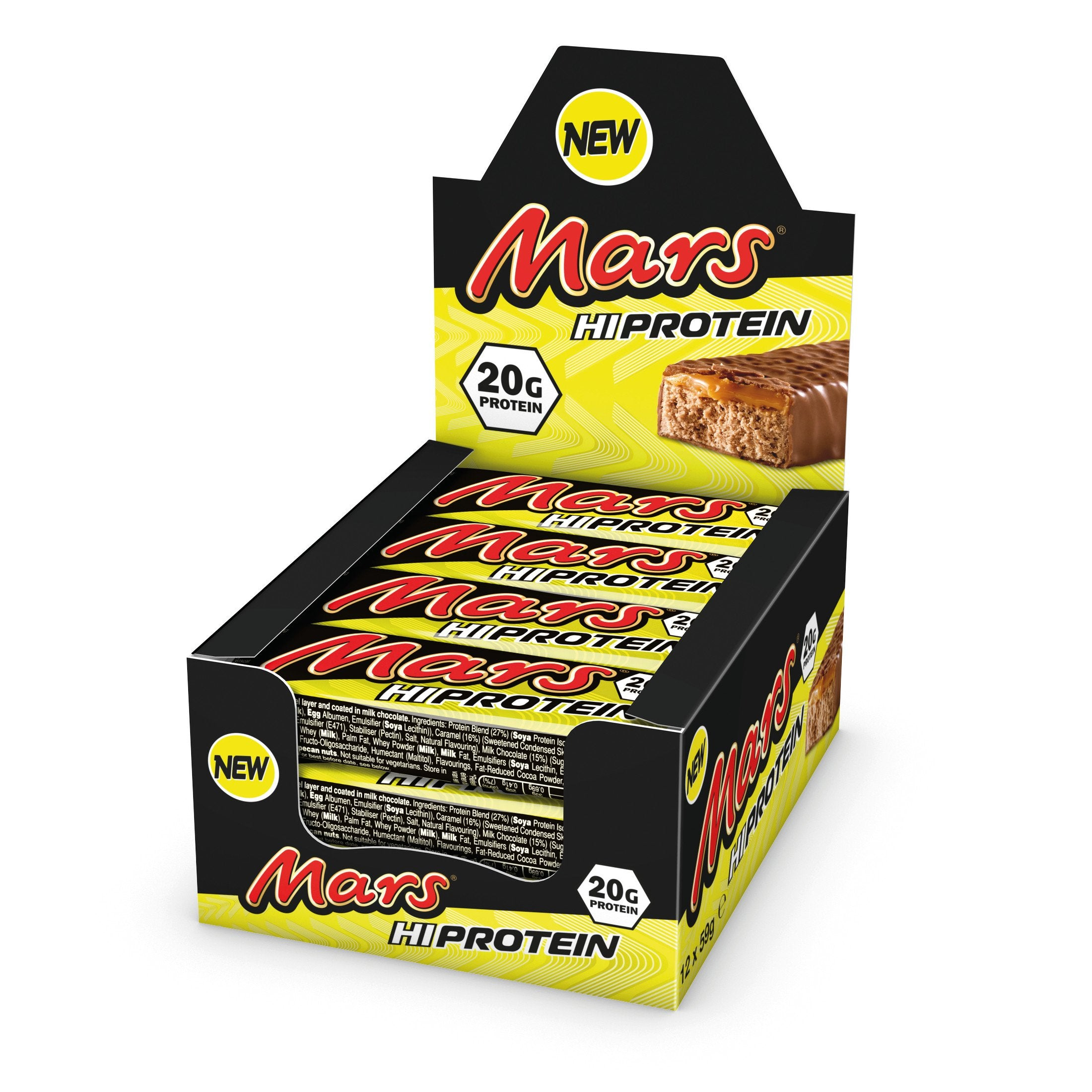 Image of Mars Hi Protein Bars - Pack of 12