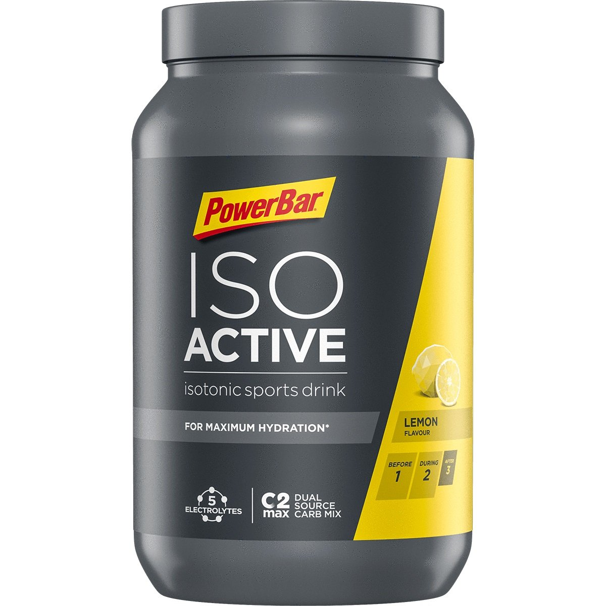 Image of PowerBar Isoactive Isotonic Sports Drink 1.3kg