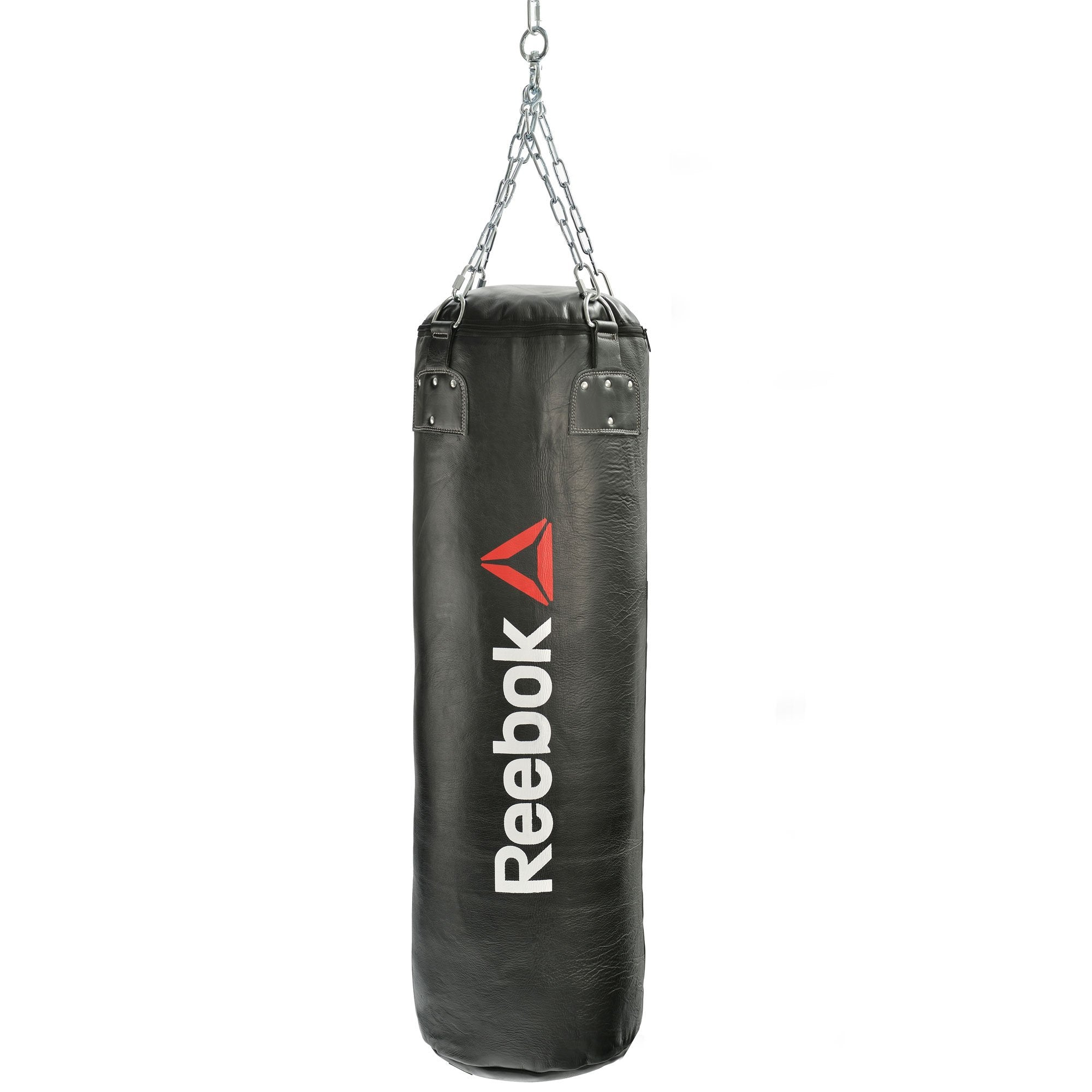 Image of Reebok Combat 5ft Heavy Leather Punch Bag