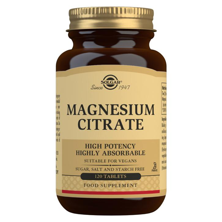 Image of Solgar Magnesium Citrate - 120 Tablets