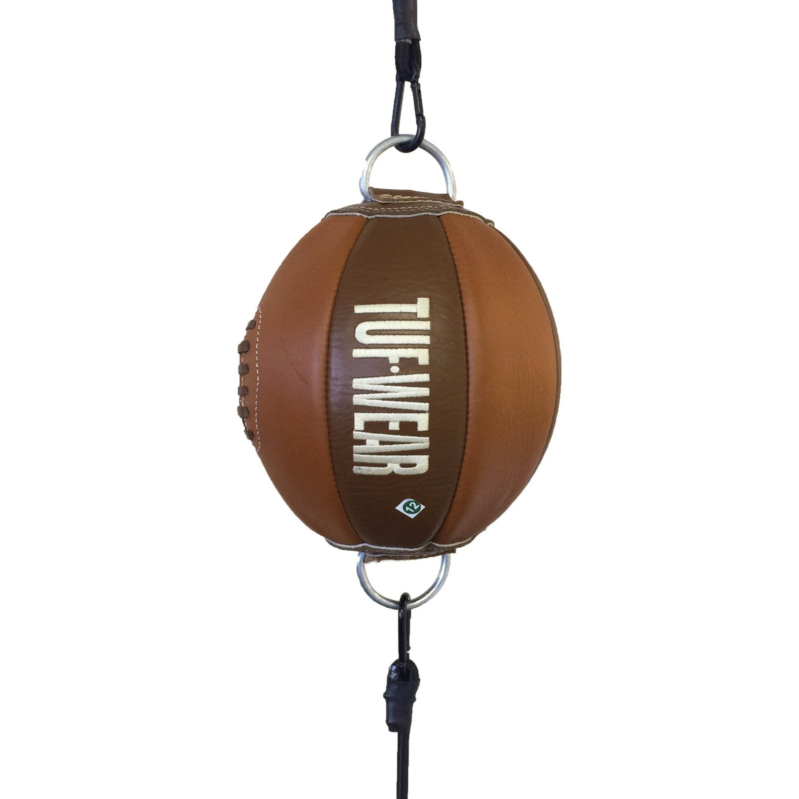 Image of Tuf Wear Classic Brown Leather Floor to Ceiling Ball